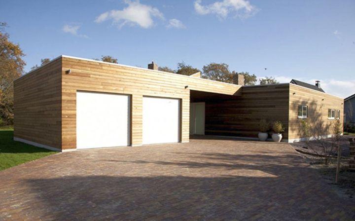 Modern garage designs and inspiration for small suburban house - Modern design homes inspirations ...