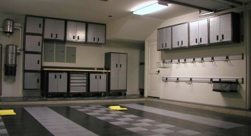modern garage designs and inspiration in black and grey
