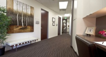 modern hallway decorating ideas for office