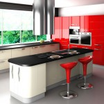 modern kitchen tables for small spaces attached to kitchen island