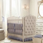 modern nursery room design ideas with classic baby crib