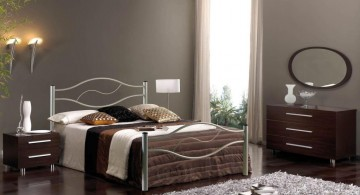 modern painted floors inspiration for classic looking bedroom