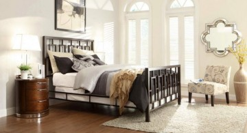 modern painted floors inspiration for guest bedroom
