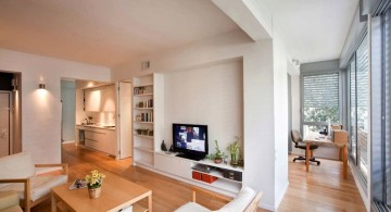 modern painted floors inspiration for open rooms