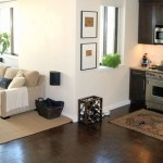 modern painted floors inspiration for small kitchen