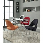 modern small multi colored dining chairs