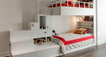 modern stylish bunk beds that save lots of space