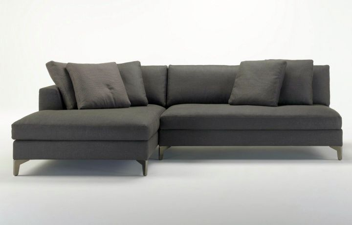 modular sofas in industrial grey