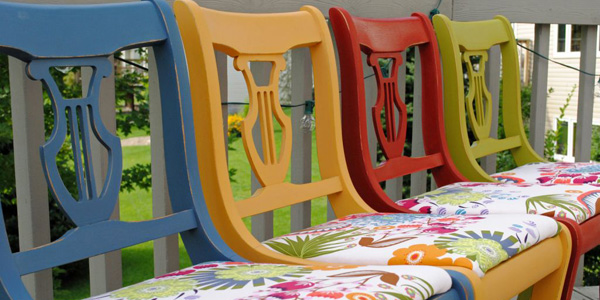 Delicieux Gallery For Multi Colored Dining Chairs