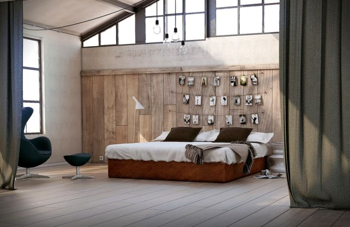 multi purpose bedroom wall panel design ideas