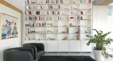 multipurpose bookshelves wall shelving units for living room