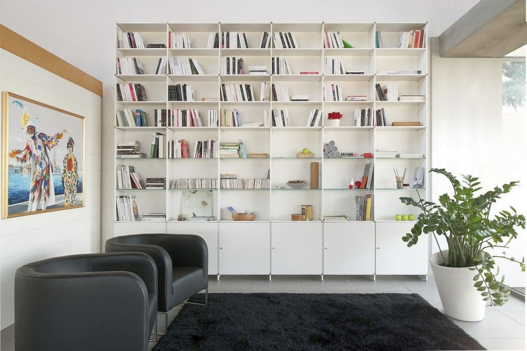 19 Great Designs Of Wall Shelving Unit For Living Room