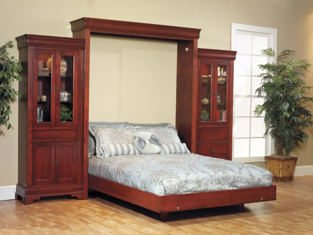 20 space saving murphy bed design ideas for small rooms - Bed design for small space gallery ...