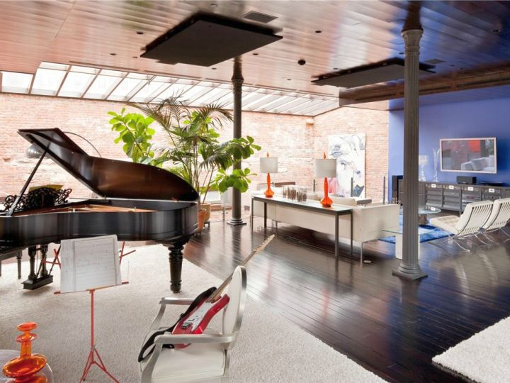 music room designs for spacious place