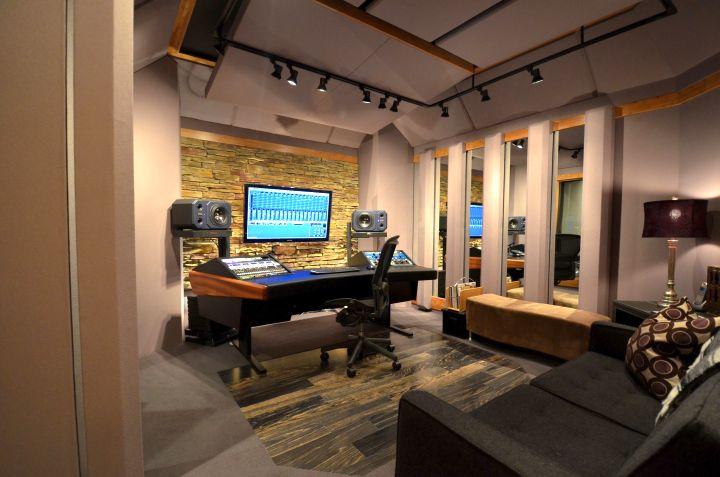 music room designs in cream and beige