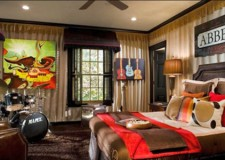 music room designs that incorporated into bedrooms