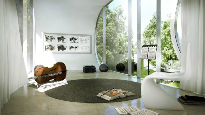music room designs with good accoustic for classical music