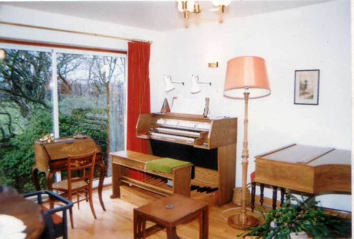 music room designs with two pianos outlooking the garden