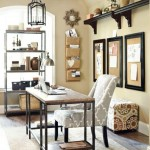 natural and well lighted stylish home office