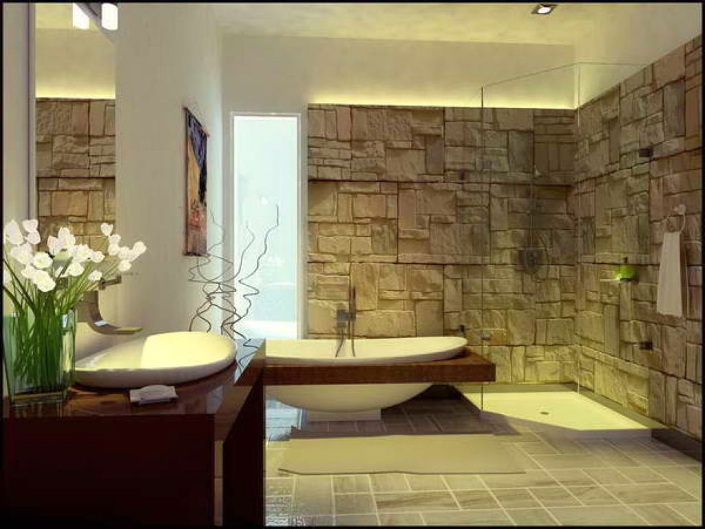 20 cool modern bathroom design ideas for Cool modern bathrooms