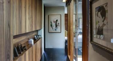 nature themed modern hallway decorating ideas