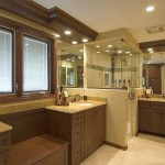 nature themed wooden bathroom designs
