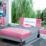 nice rooms for girls in grey and pink