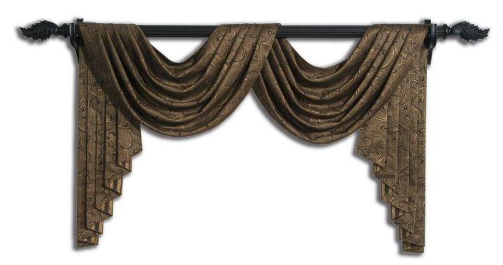 open swag valance patterns