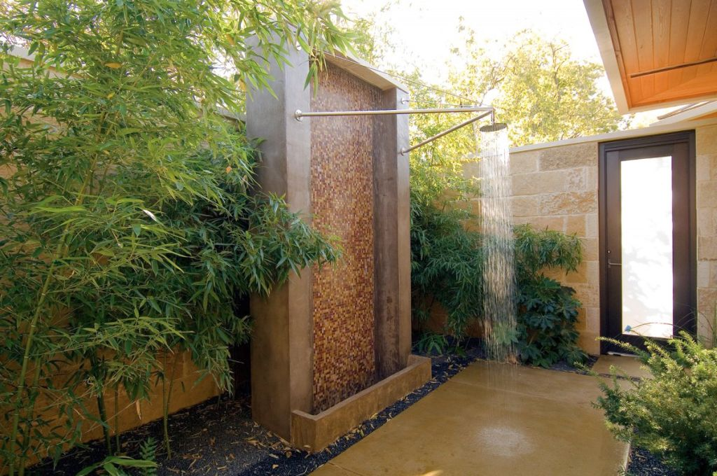 So What Do You Think About Outdoor Bamboo Themed Bathroom Above It S Amazing Right Just Know That Photo Is Only One Of 17