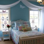 pastel-colored room designs cute blue bedroom