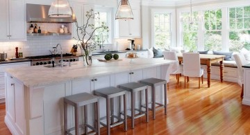 pastel-colored room designs for kitchen