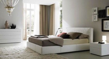 pearl white and grey relaxing paint colors for bedrooms