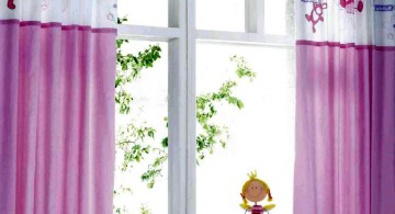 pink and white teenage girl curtain designs