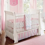 pink baby room ideas with soft pink wall