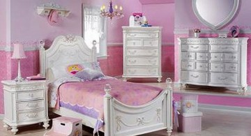 pink themed unique beds for girls