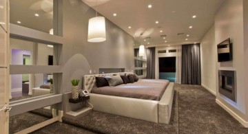 plush contemporary bedding ideas