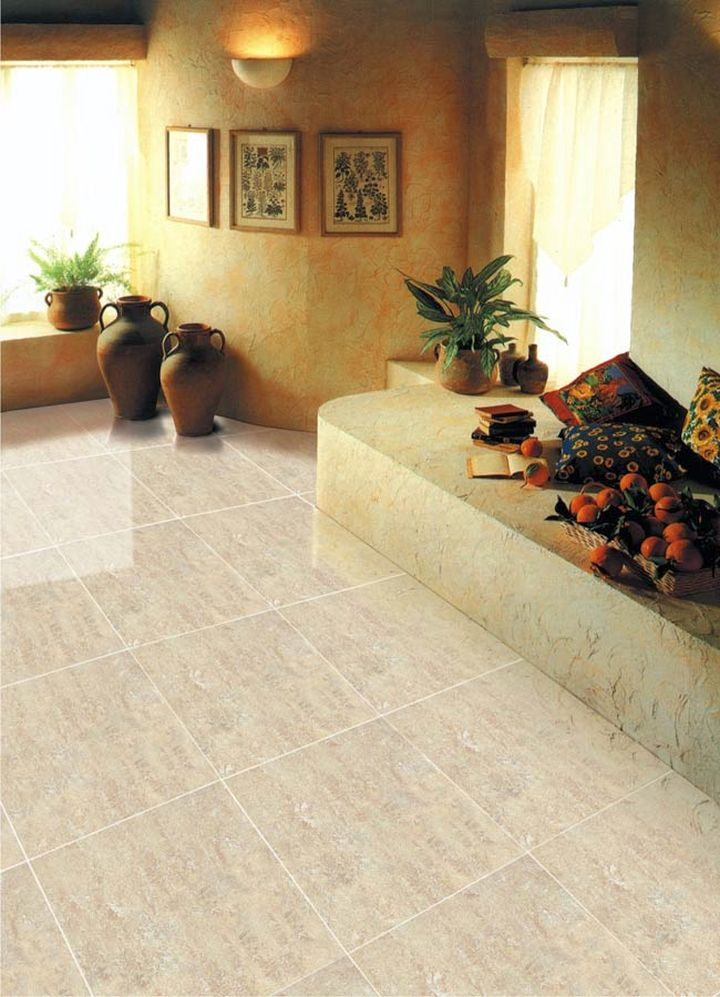 19 tile flooring ideas for living room to look gorgeous for Floor designs