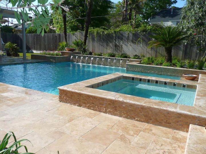 19 reposeful pool with spa designs for modern homes for Pool design 2015