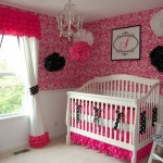 pretty DIY flowers for pink baby room ideas