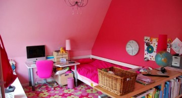 pretty girl bedrooms for attic rooms