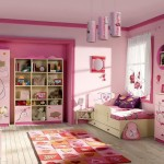 pretty girl bedrooms with unique lamps