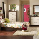 pretty girl bedrooms with white pinewood cabinets