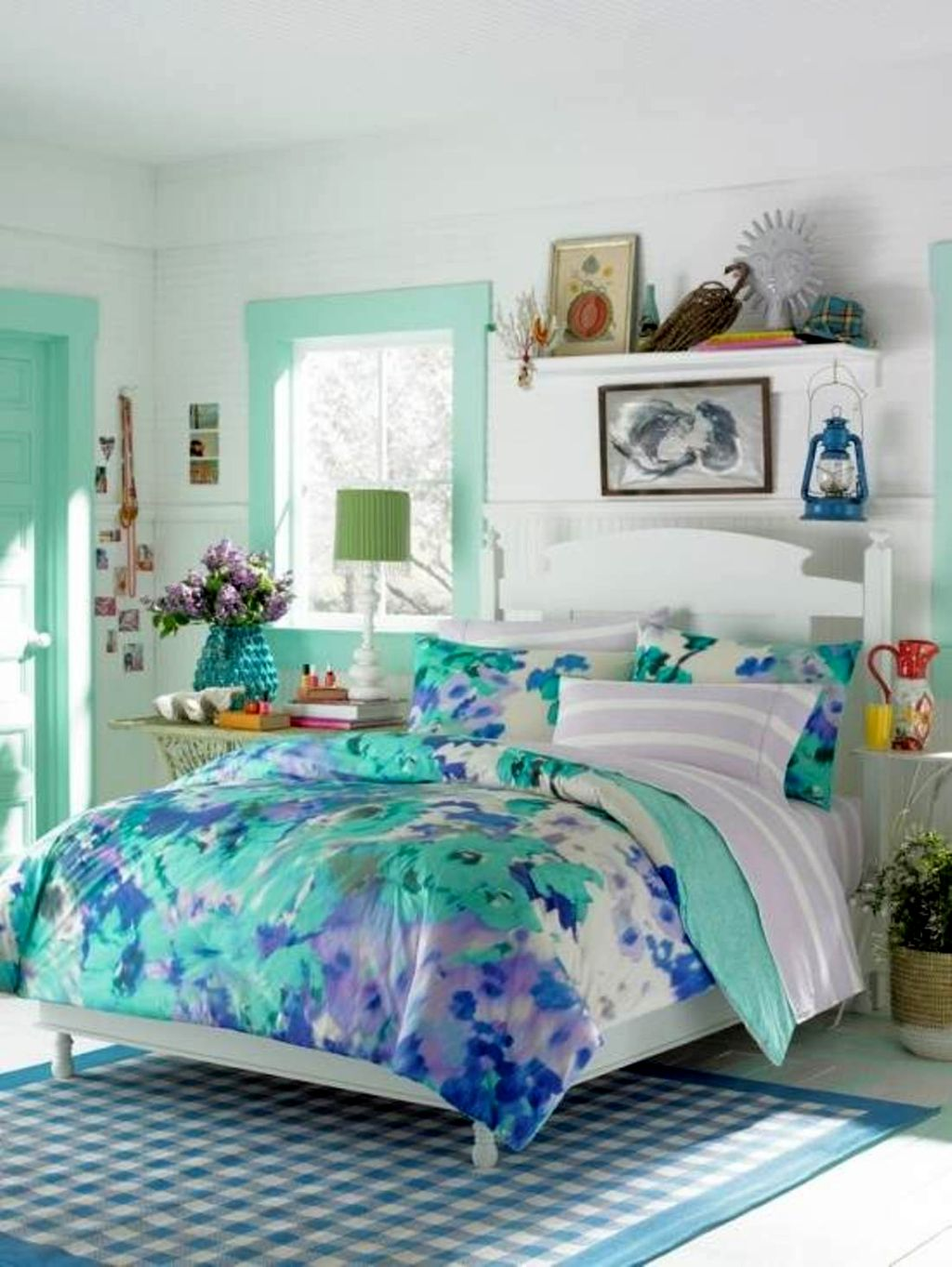 20 pretty girl bedrooms for your little princesses for Pretty decorations for bedrooms