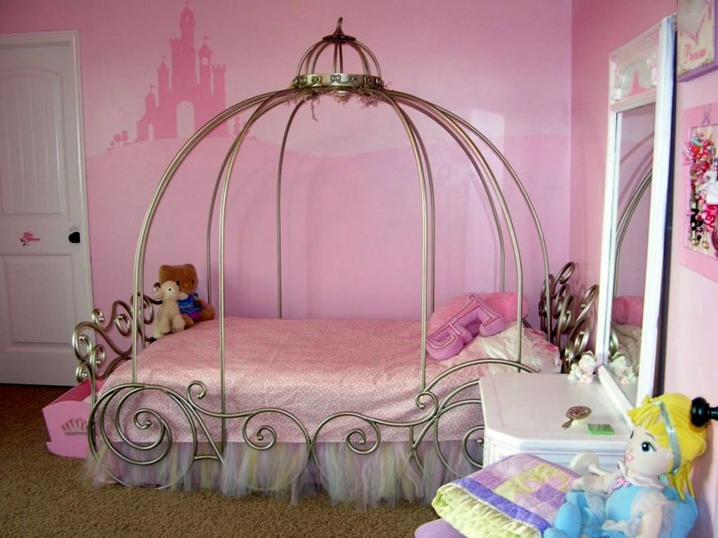princess style cute girls bedroom ideas  19 Cute Girls Bedroom Ideas Which  Are Fluffy Pinky. Cute Girl Bedrooms