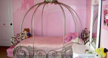princess style cute girls bedroom ideas
