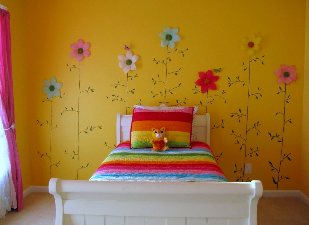 19 cute girls bedroom ideas which are fluffy pinky and all Cute bedroom wall ideas