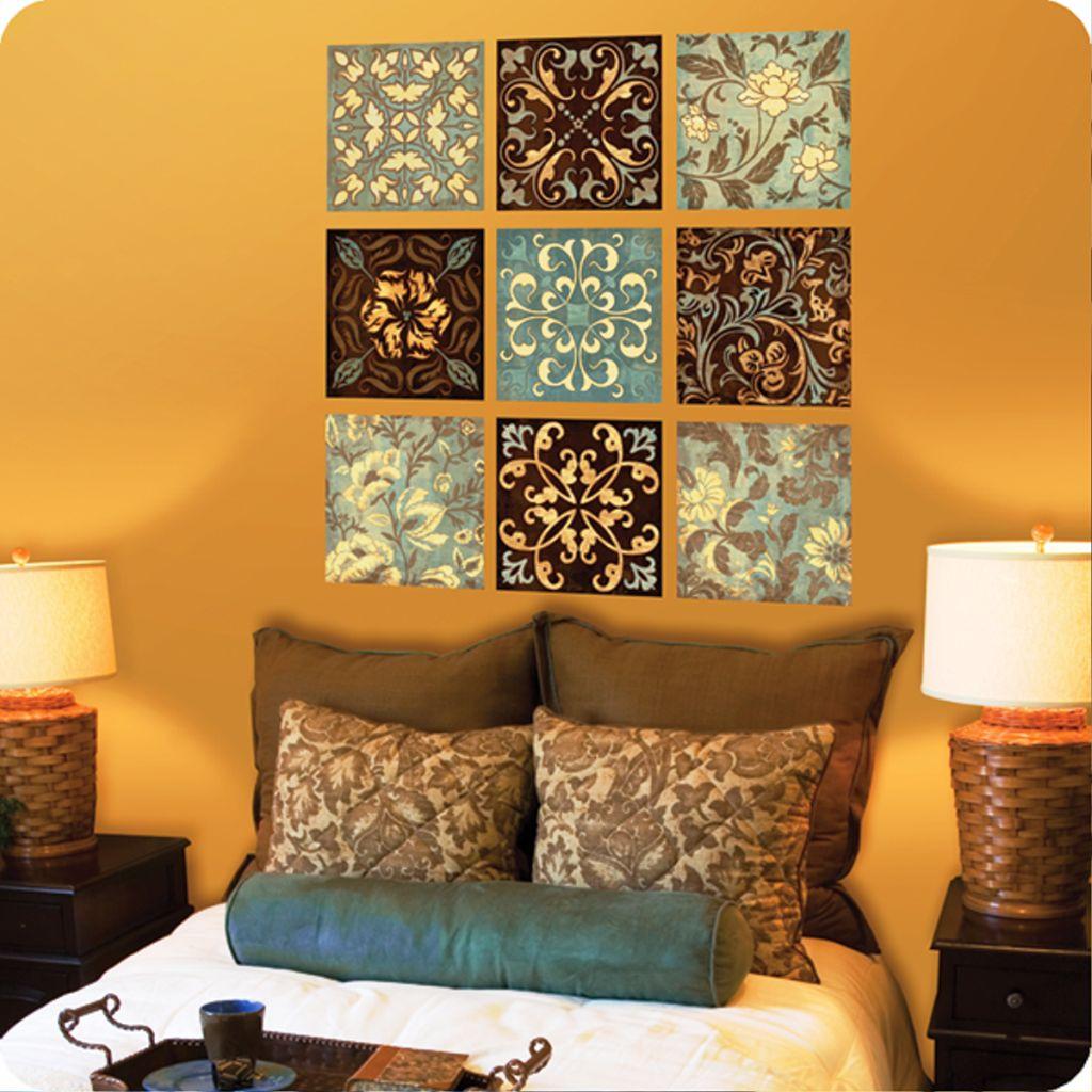 Random patterns diy bedroom art for Random diys