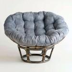 rattan modern papasan chair