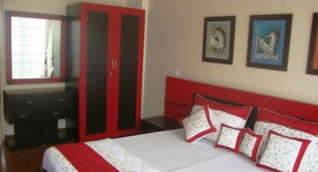 red black and white bedroom ideas for guest room