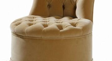 regal looking vanity chair with skirt